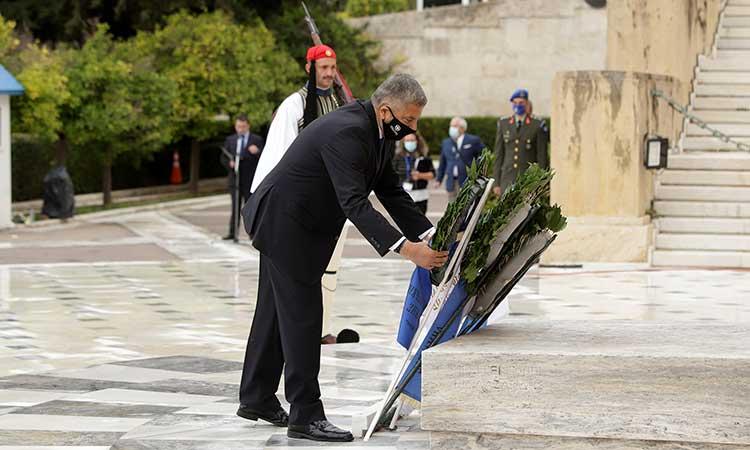Στις εορταστικές εκδηλώσεις για την εθνική επέτειο της 28ης Οκτωβρίου ο περιφερειάρχης Αττικής Γ. Πατούλης