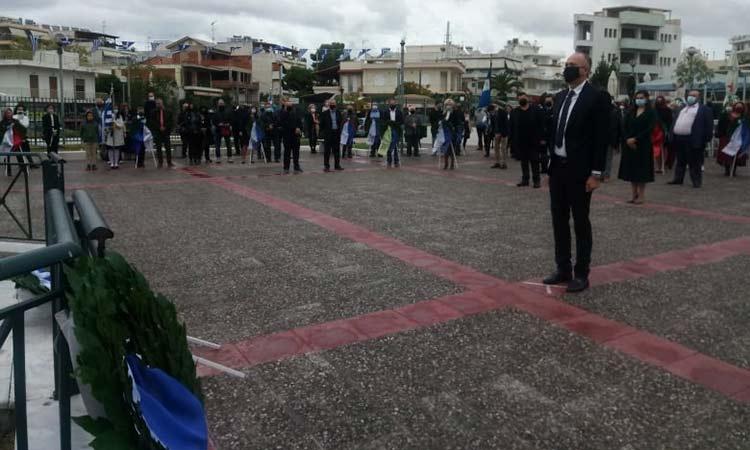 Λιτά αλλά ουσιαστικά γιόρτασε την 28η Οκτωβρίου ο Δήμος Μεταμόρφωσης