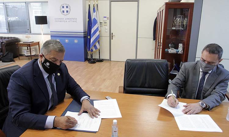 Σύμφωνο Συνεργασίας Περιφέρειας Αττικής και ΕΕΤΤ για ψηφιακές δράσεις και έξυπνες εφαρμογές