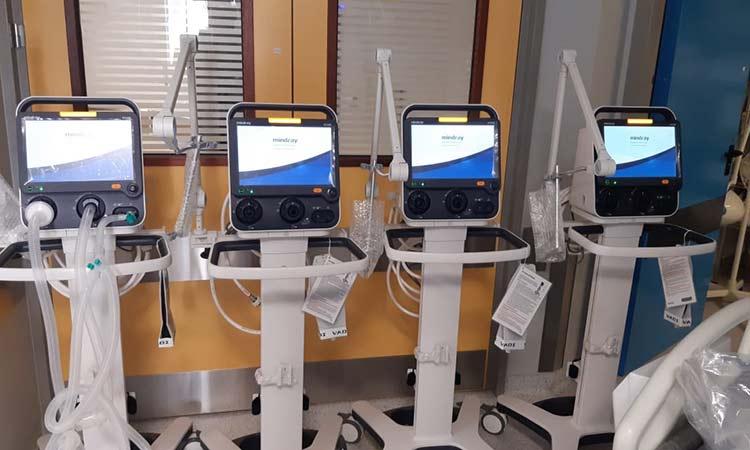 Ολοκληρώθηκε η εγκατάσταση 10 αναπνευστήρων στο νοσοκομείο «Ευαγγελισμός»