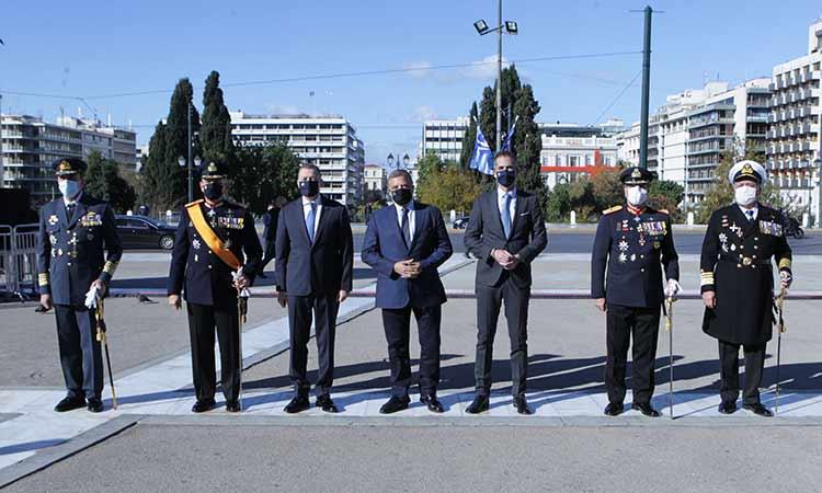 Στον εορτασμό της Ημέρας των Ενόπλων Δυνάμεων ο περιφερειάρχης Αττικής