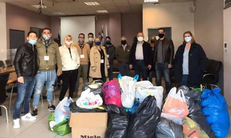 Με επιτυχία η συγκέντρωση ανθρωπιστικής βοήθειας για τους πληγέντες του Δήμου Χερσονήσου στην Αγία Παρασκευή