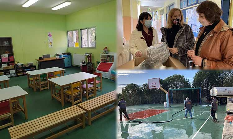 Δ. Κεχαγιά: Οι σχολικές υποδομές στον Δήμο Πεντέλης είναι έτοιμες να υποδεχθούν μαθητές κι εκπαιδευτικούς