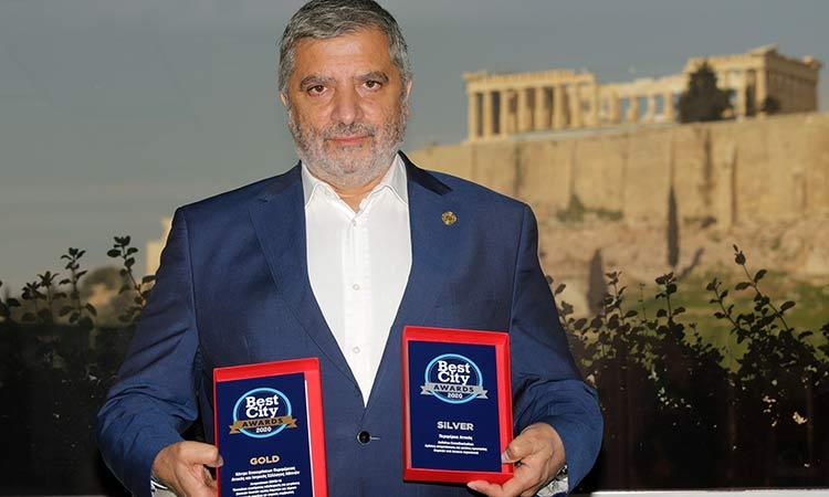 Διακρίσεις Περιφέρειας Αττικής στα Best City Awards 2020 για αντιμετώπιση πανδημίας και καινοτομία
