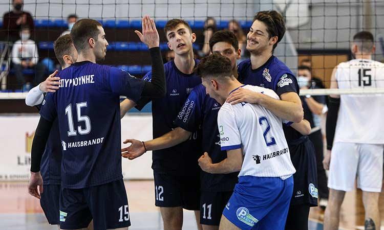 Volley League: Ανώδυνη ήττα από τον ΟΦΗ με 3-0 σετ για την Κηφισιά