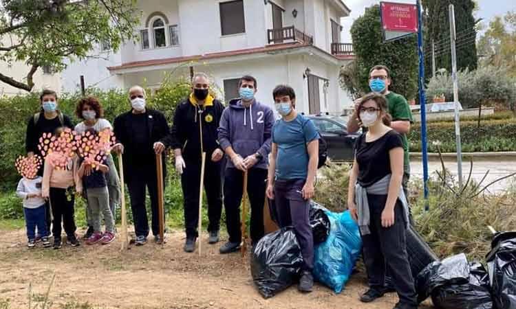Δράσεις καθαρισμού στο Μαρούσι το Σάββατο 3 και την Κυριακή 4/4 από την ομάδα «Save your Hood»