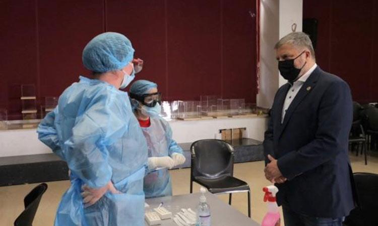 Γ. Πατούλης: Τιμούμε σήμερα το αξιόμαχο υγειονομικό μας προσωπικό