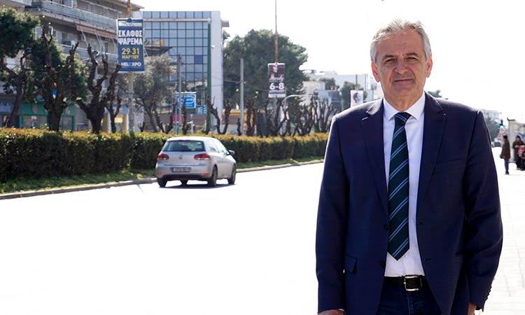 Ο Β. Γιαννακόπουλος καλεί τους Αγιοπαρασκευιώτες για rapid test στη λαϊκή αγορά επί της Επτανήσου