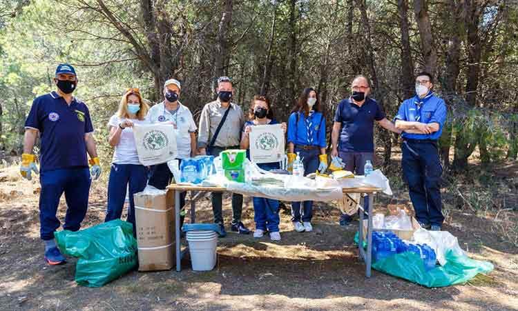 Με μεγάλη συμμετοχή η δράση εθελοντικού καθαρισμού του Δήμου Κηφισιάς στα δάση Φασίδερι και Καστρίτσας