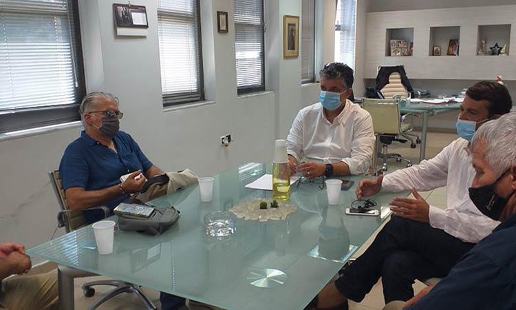 Συνάντηση Ξ. Μανιατογιάννη με εκπαιδευτικούς της Βόρειας Αθήνας για νέες περιβαλλοντικές δράσεις