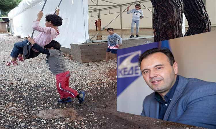 Δ. Παπαστεργίου: Η Ελλάδα και οι Δήμοι της χρειάζονται μεγαλύτερη στήριξη στο προσφυγικό