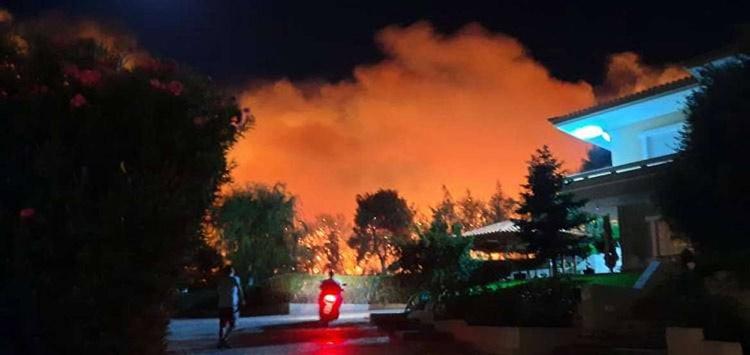 Φωτιά στη Νέα Μάκρη: «Καθαρός εμπρησμός» – Τι λένε Πατούλης και διοικητής Πυροσβεστικής