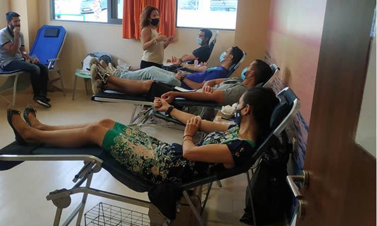 Αυξημένη προσέλευση στην αιμοδοσία της 12ης Σεπτεμβρίου στον Δήμο Βριλησσίων