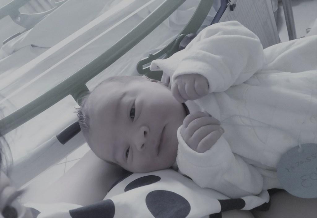 9 mesi di gravidanza e 4 mesi di Federico