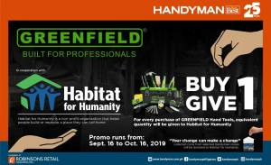 Herco Trading, Inc. and Habitat For Humanity Ink Partnership