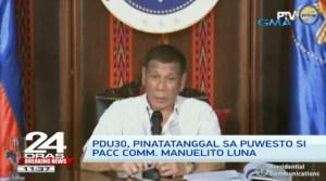 Duterte Defending Robredo was the Plot Twist that Shooktd the Nation During the President's Latest Address