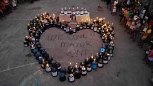 Bocaue townsfolk pay memorial tribute for beloved Mayor Joni Villanueva