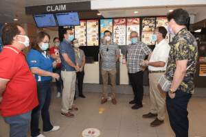 McDonald's shares enhanced safety protocols with DTI