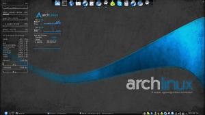 Mi escritorio en Archlinux