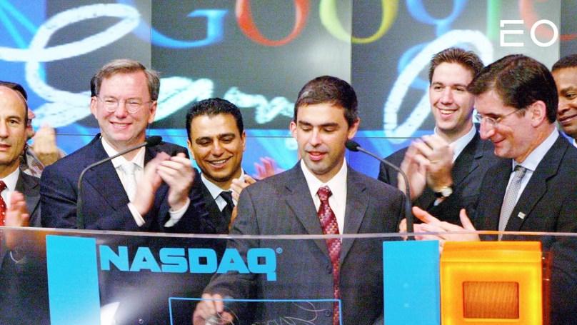 구글 IPO 당시 모습