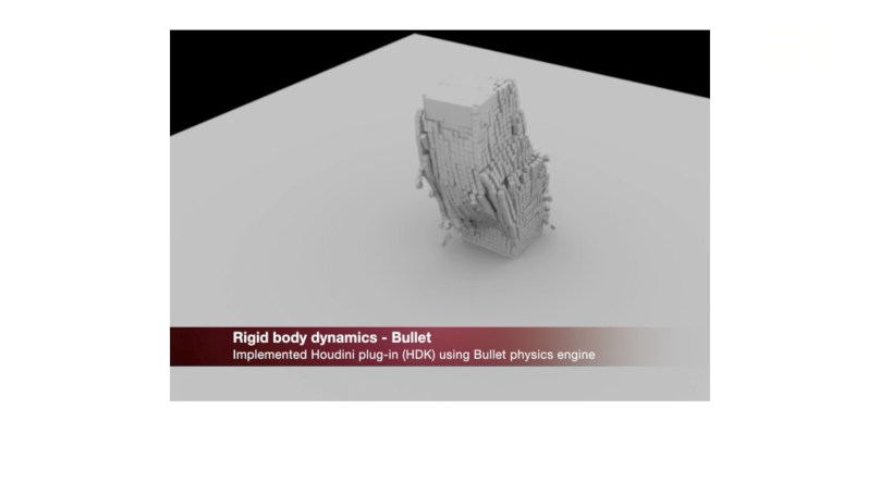 장유진 R&D 엔지니어가 ILM 입사시에 보여주었던 포트폴리오 영상