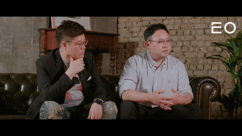 (왼쪽부터) 퓨처플레이 류중희 대표와 플랜즈커피 최준혁 대표와