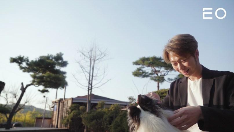 밸런스독 이근형 대표와 강아지