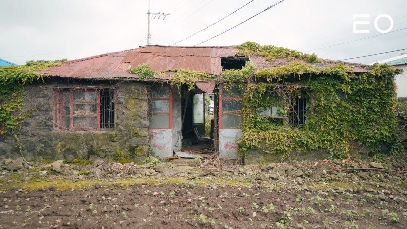 제주도의 한 빈집