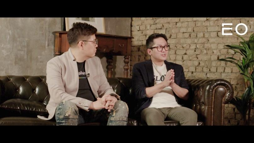 (왼쪽부터) 퓨처플레이 류중희 대표, 로컬스티치 김수민 대표