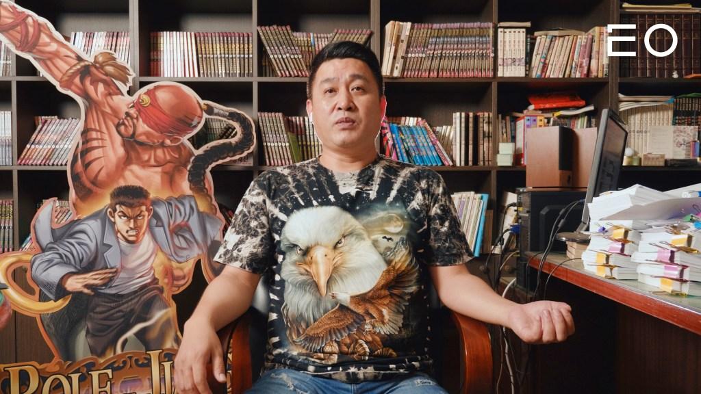 만화 작가 김성모 인터뷰
