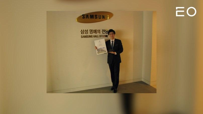 삼성전자 재직 시절의 디자이노블 신기영 대표