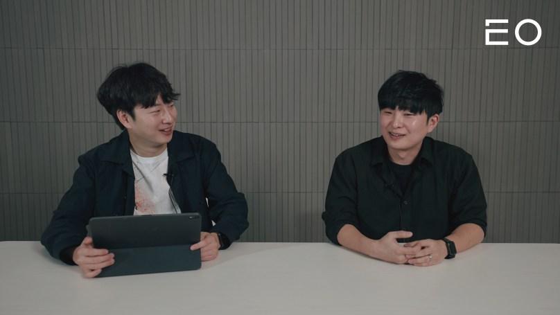 (왼쪽부터) EO 김태용 대표, 코코넛사일로 김승용 대표