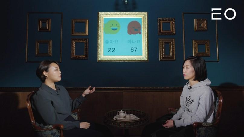 (왼쪽부터) 딱따구리 유지은 대표와 루트임팩트 박영은 디렉터