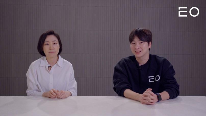 (왼쪽부터) 플림스 이수경 대표, EO 김태용 대표