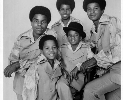The Jackson Five: From left clockwise, Tito, Jermaine, Jackie, Michael and Marlon.