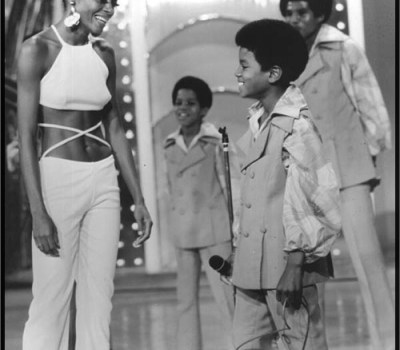 Michael Jackson and Diana Ross back in the day...