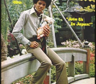 Michael Jackson on tour in Japan