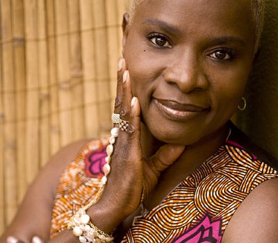 Angelique Kidjo: The diva in a relaxed mood.