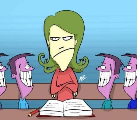 What happened teacher? by  Adibi?