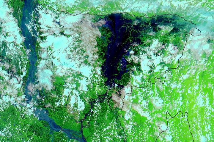 Intense Flooding in Bangladesh