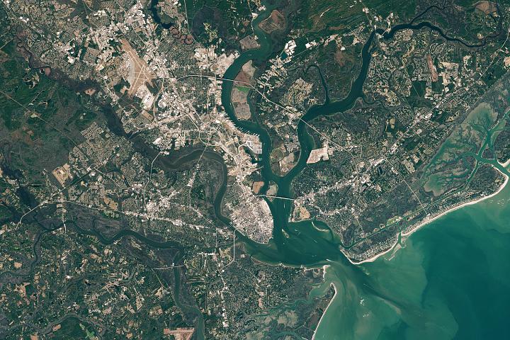 Rising Seas in Charleston