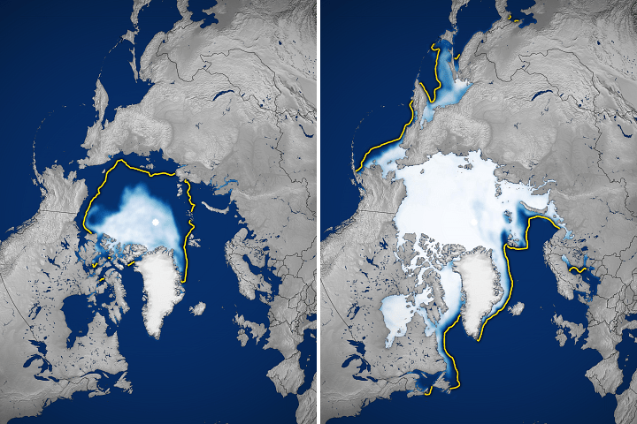 Sea Ice Highs and Lows