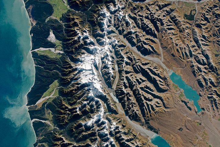 South Island Alps