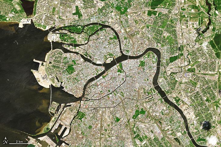 Saint Petersburg Keeps the Sea at Bay