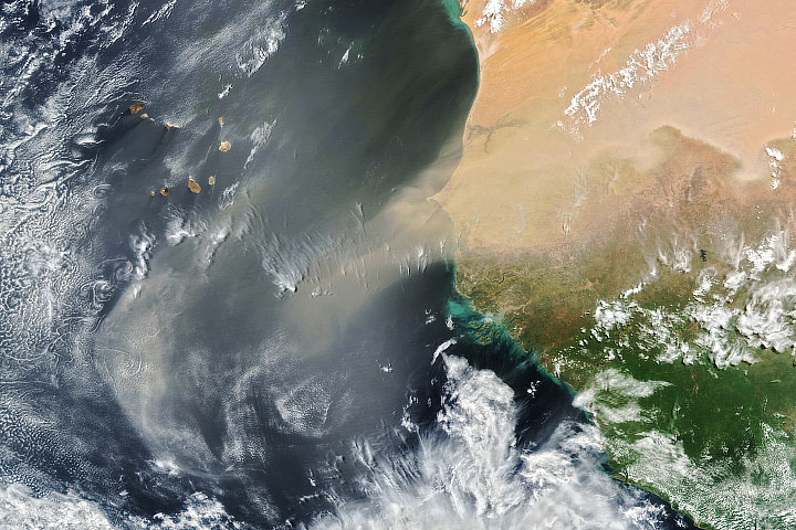 North Africa Sheds Some Dust