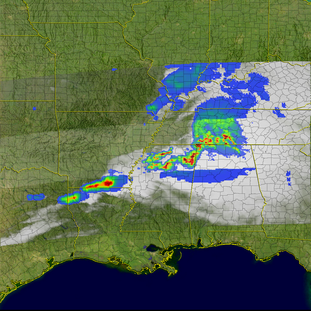 Thunderstorms And Tornadoes In The United States