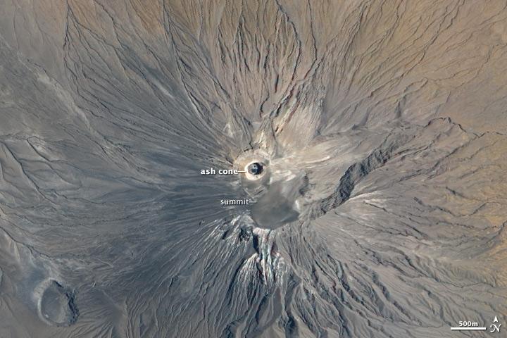 Ol Doinyo Lengai volcano, Tanzania.