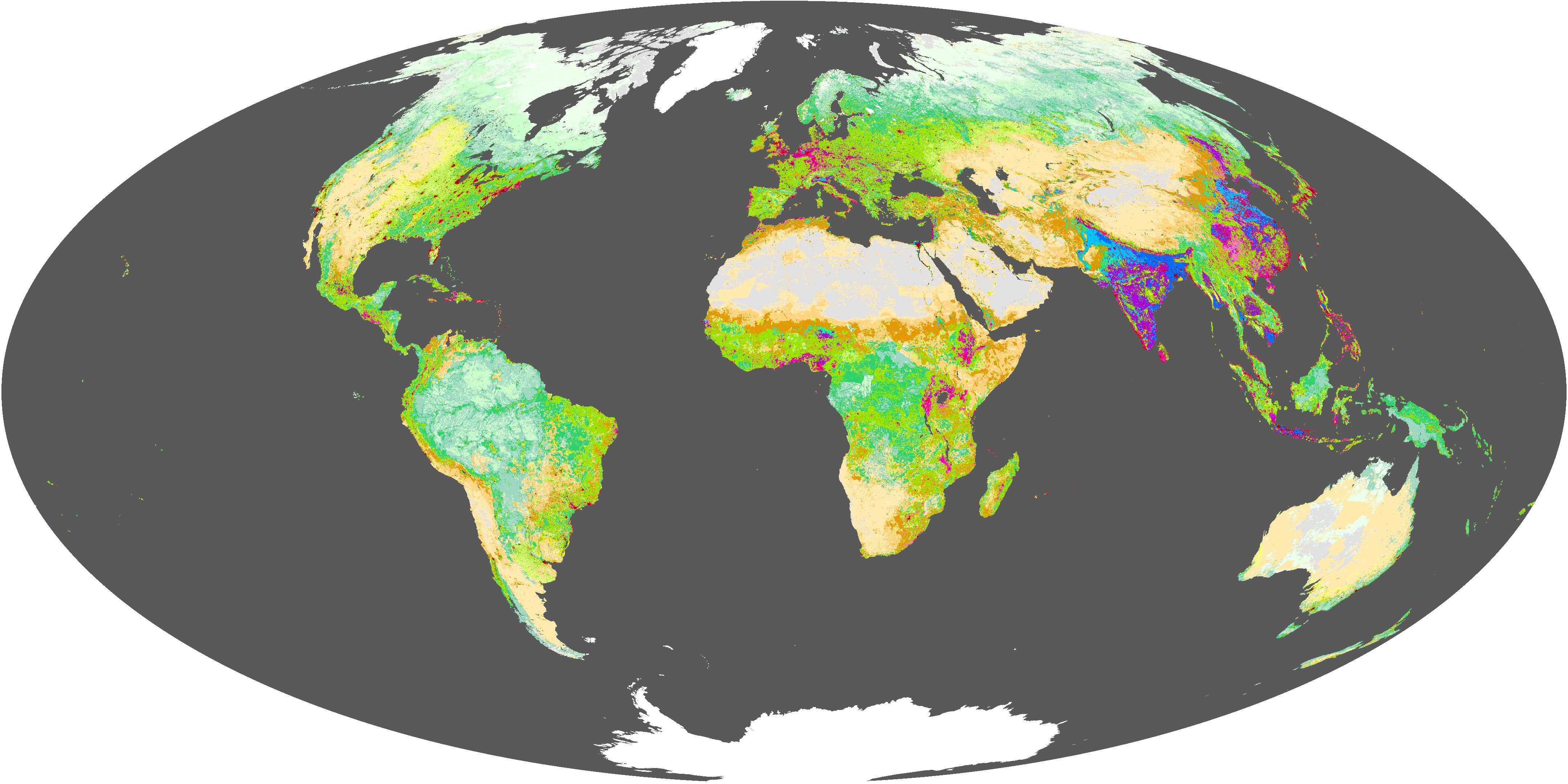 Which Biome Covers The Largest Part Of Earth S Surface