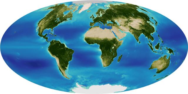 Thirteen Years of Greening from SeaWiFS