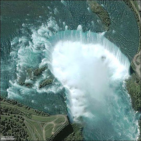 Nasa Visible Earth Niagara Falls